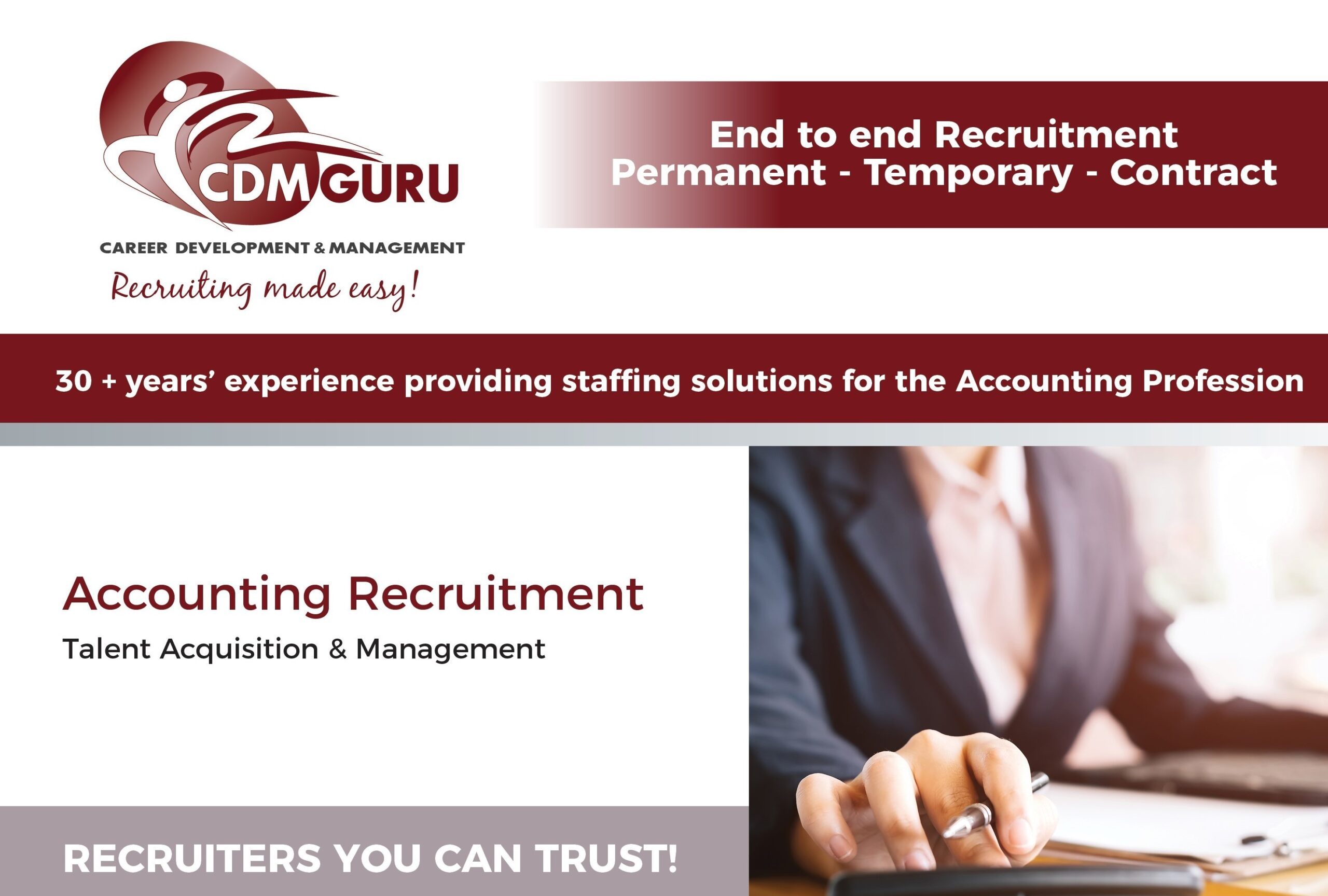 CDMGuru Ad - Accounting