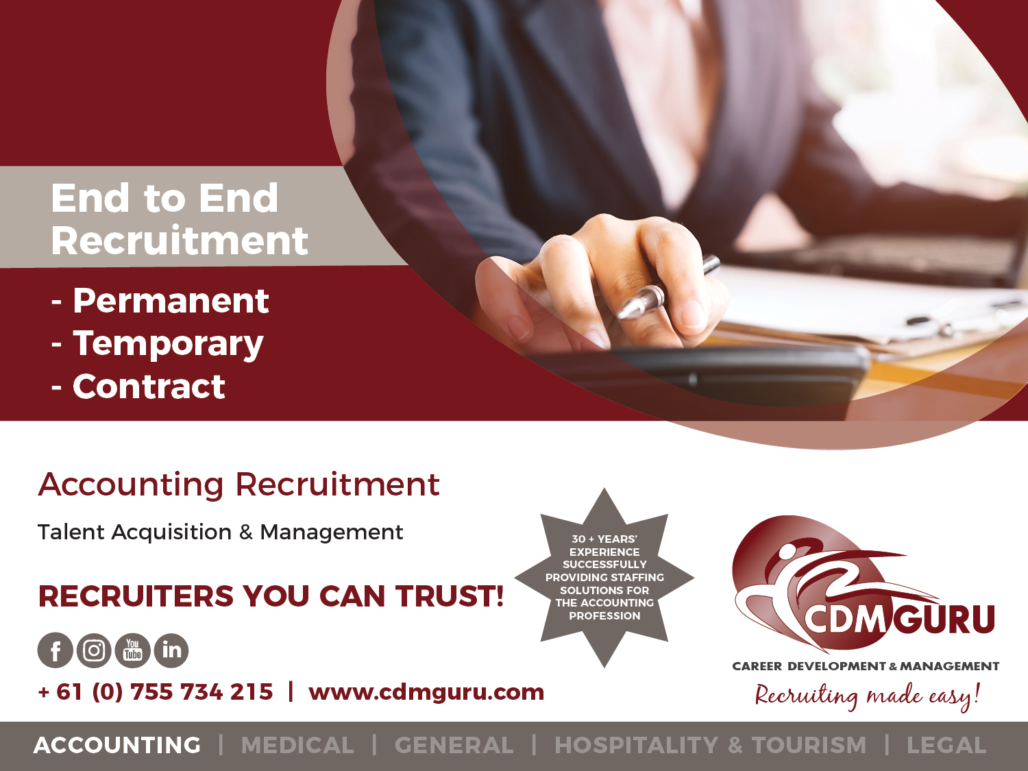 Accounting Recruitment Agency